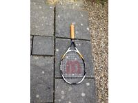 2 adult tennis rackets