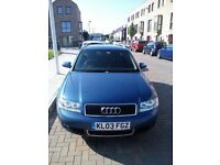 Audi A4 1.9 Manual 2003 Estate 122k MOT Engine in Excellent Condition