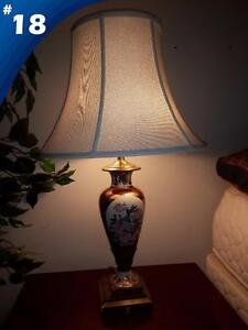Hotel clearance sale on lamps and wall sconces just off Highway 400!!
