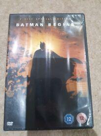 Batman dvd 2 discs