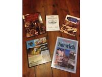 5 local history and photography books - Norwich, Norfolk and Suffolk