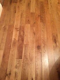 Solid Oak Natural Wood Flooring