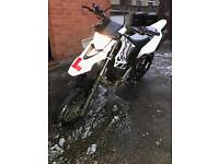 "Wr125x 6231 miles no previous owners L@@k """"65 plate """""
