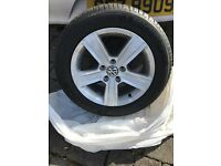 New 205/55/r16 alloys and tyres volkswagen