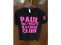 Paul Hollywood baking tour t shirts.