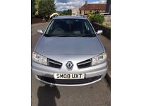 Renault Megane Estate. 2008. Long MOT. Good condition. Good runner.