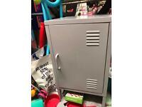 Habitat short 1 door locker - grey