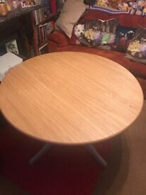 As new Padstow Round Extended Dining Table Marks and Spencer RRP £699
