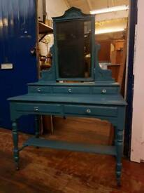 Dressing Table in French Navy