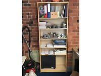 IKEA Beech Tall Bookshelf £25