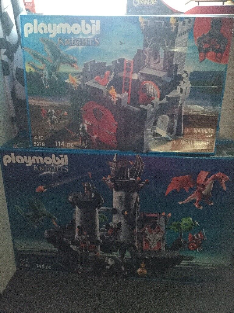 Play Mobil knights castle 5996