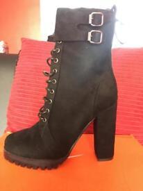 Size 5 heel boots
