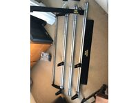 Van Guard Roof Rack with Rear Roller and Wind Deflector for Peugeot Expert / Citroen Dispatch