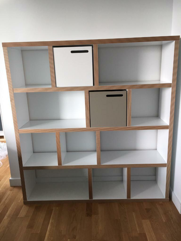 Contemporary White Bookcase By Wayfair