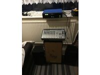 Karaoke/pa system £225 cash for a very quick sale
