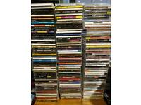 Over 6000 CDs - All barcoded, all genres, local delivery possible.