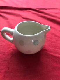 Spotty milk jug