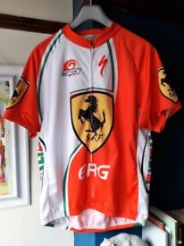 Cycling Jersey, Specialized, Sidi, Selle Italia, Ferrari