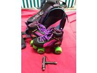 Rio Roller Skates, Skates bag & Skate wrench