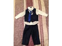 Boys 12-18 months Blue suit.