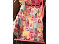 Peppa pig bed and accesories