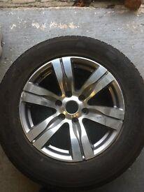 Ford Ranger wheels with Brand new Bridgestone Tyre