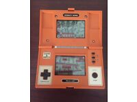 Nintendo Game And Watch Donkey Kong 1982 Rare Collectable Retro Handheld