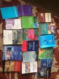 Numerous social work books