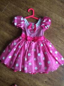 Disney store Minnie Mouse dress