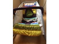 Mamas and papas baby bouncy rocking chair