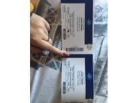 2 x Justin Bieber Purpose World Tour Tickets