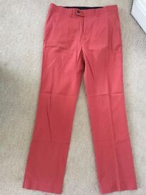 Charles Tyrwhitt Red Trousers - 34W 32L (worn once)