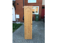 Wooden Wardrobe Doors With Hinges And Handles x2 Sets