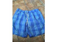 Mens size large swim shorts