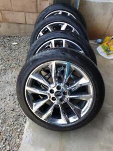 FORD ESCAPE ( 2013 TO 2018 ) OEM FACTORY 19 INCH ALLOY WHEELS IN GOOD  CONDITION.NO CENTER CAPS