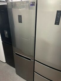 STAINLESS STEEL SAMSUNG FRIDGE FREEZER