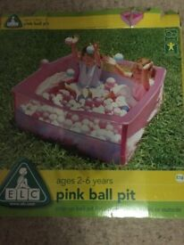 ELC Pink Ballpit with Balls