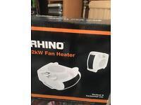 Fan heater 2kw