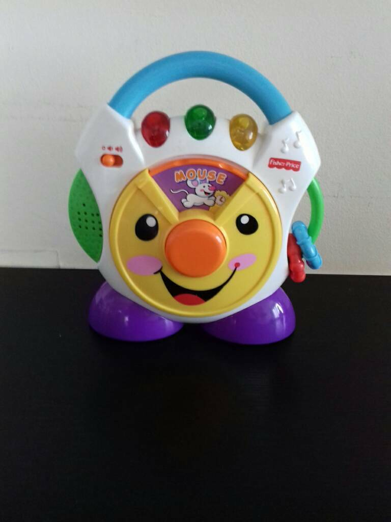 Fisher Price Laugh And Learn Nursery Rhymes Toy Cd Player