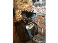 Motor bike helmet for sale