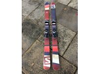 Salomon Remix Skis. 171cm. With Salomon STH12 Bindings.