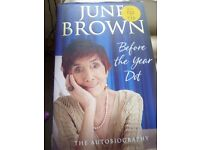 June Brown Autobiography Hard Back