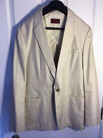 Used D'URBAN blazer, Pearl colour, size 50