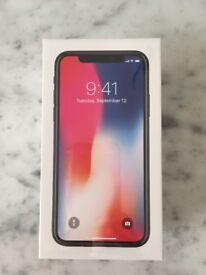 Apple iPhone X 256GB Space Grey (Unlocked, Sealed)