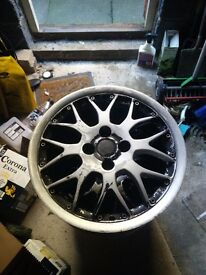 "Rare BBS RX2 / RXII 16"" 4x100 for refurb."