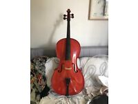 Stentor Cello Student 1 with original case 4/4