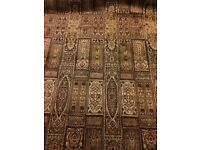 Kashmiri Silk Handmade Hand Knotted Carpet