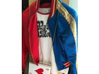 Harley Quinn costume woman's size 10-12