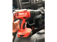 Hilti bosch impact gun. Cordless sds cordless hammer drill cordless Bosch kit 3x items.circular saw