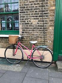 Peugeot Ladies Girls bicycle. Small, lightweight, comfortable to ride.